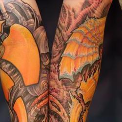 Tattoos - Dan, Collaboration by Markus Lenhard and Guy Aitchison - 72434