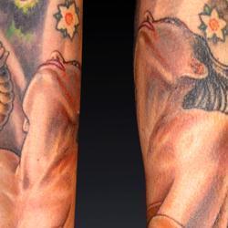 Tattoos - Lisa, tension and balance - 72540