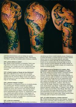 Tattoos - Argentina Feature, 2005, Page 5 - 72206