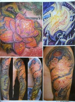 Tattoos - Aitchison - Japan, Tattoo Burst Magazine, 2011, Page 1 - 72391