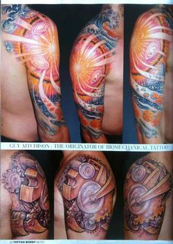 Tattoos - Aitchison - Japan, Tattoo Burst Magazine, 2011, Page 8 - 72384