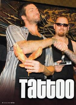 Tattoos - Tattoo Wars - Tattoo Mag, 2008, Page 1 - 72329
