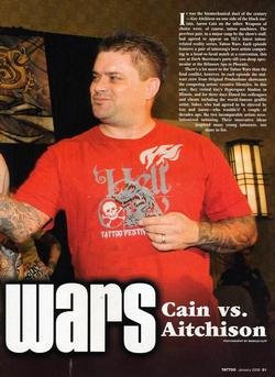 Tattoos - Tattoo Wars - Tattoo Mag, 2008, Page 2 - 72328