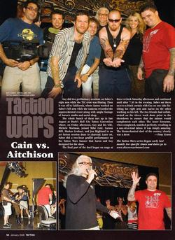 Tattoos - Tattoo Wars - Tattoo Mag, 2008, Page 5 - 72325