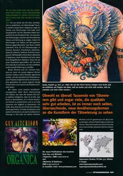 Tattoos - German Article, 2006, Page 8 - 72236