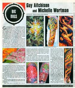 Tattoos - Aitchison/Wortman, Prick Magazine, 2003, Page 1 - 72179