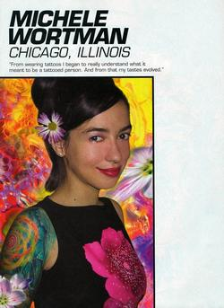 Tattoos - Wortman Dream Team Feature, Tattoo Magazine, 2001, Page 1 - 72145