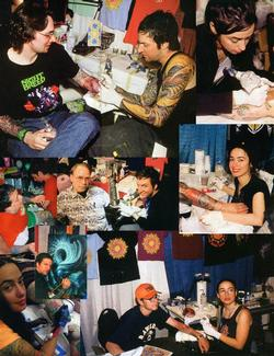 Tattoos - Photos from various magazines from 1990-2011, Page 1 - 72396