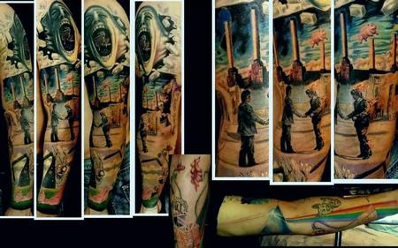 Tattoos - Pink Floyd sleeve - 80552