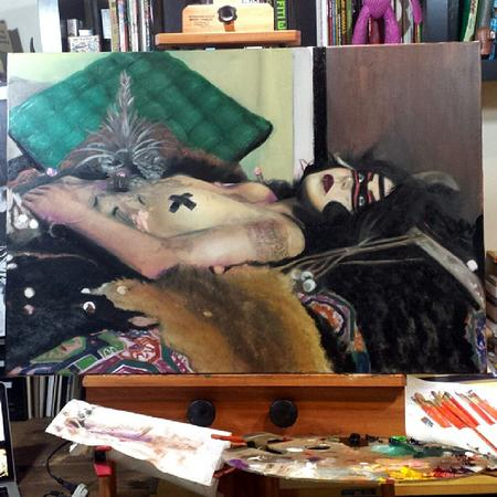 Tattoos - Update on oil painting progress  - 109440