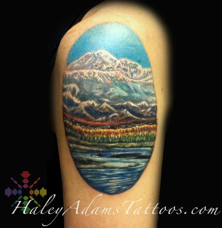 Tattoos - Alaska Mountains  - 122819