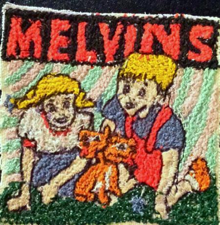 Tattoos - Hand made Melvins Patch  - 104190