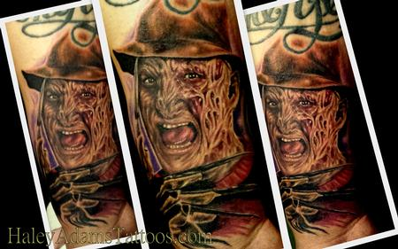Tattoos - freddy krueger tattoo on wrist - 86082