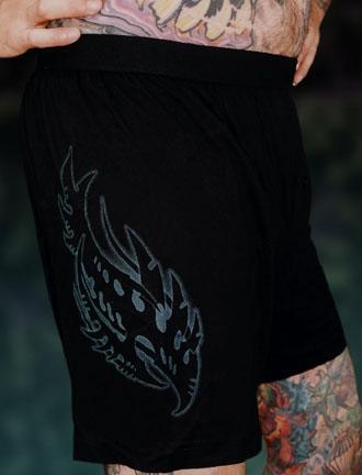 C107 Biomech Tribal Boxer Shorts Guy Aitchison