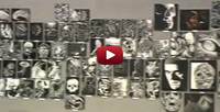 Hell City Scratch Art Expo video