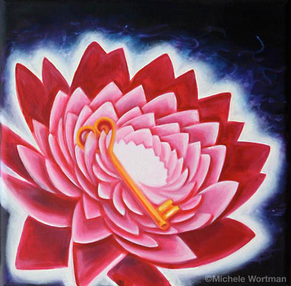 Michele Wortman - Lotus and Key 07