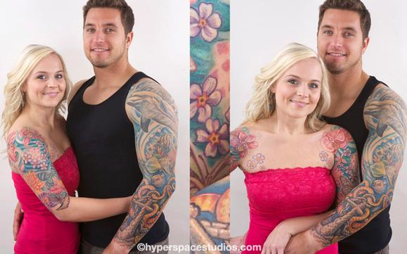 Tattoos - Jenn and Matt - 79164