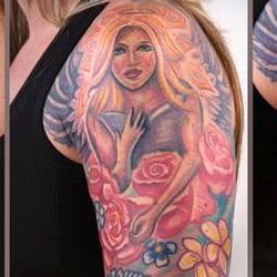 Tattoos - Julie angel sleeve - 71331