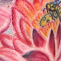 Tattoos - kristen Buddha half sleeve detail - 71334
