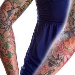 Tattoos - amy hummingbird sleeve - 71337