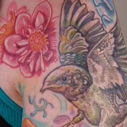 Tattoos - casey barnswallow sleeve detail 2 - 71330