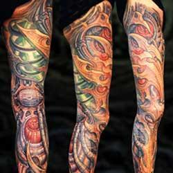 Tattoos - Bio Leg Sleeve Coverup - 13883