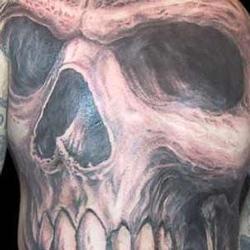 Tattoos - 4-way Big Skull Collab - 29792