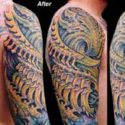 Tattoos - Bio Coverup - 4549