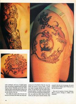 Tattoos - Tattoo Revue 1990, page 5 - 71850
