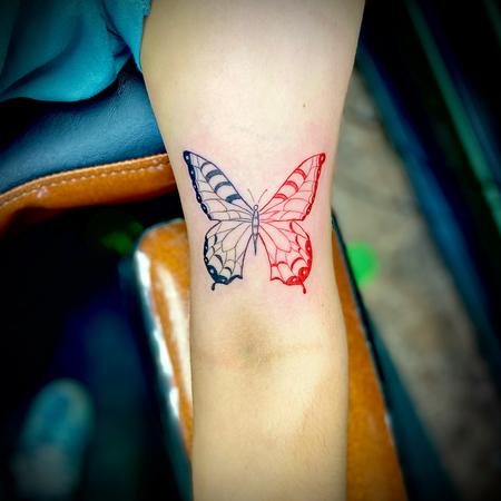 Tattoos - butterfly - 142795