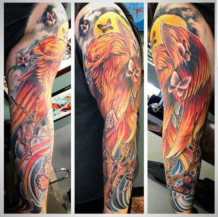 Aaron Powers - Phoenix Sleeve