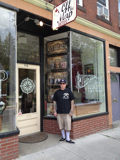Off The Map Tattoo New England News: Northwest Shop Manager Visits Easthampton, MA  Off The Map Tattoo