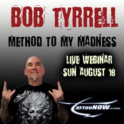 Bob Tyrell tattoo seminar