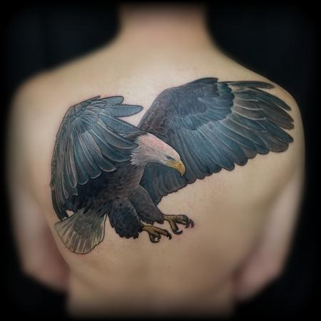 Tattoos - Realistic Bald Eagle Tattoo by Haylo - 141596