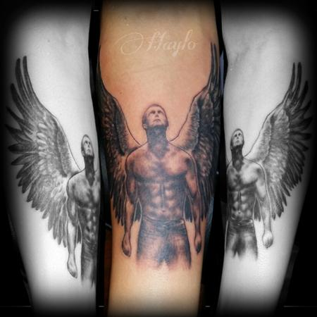 Tattoos - Arch Angel Realistic style - 100229