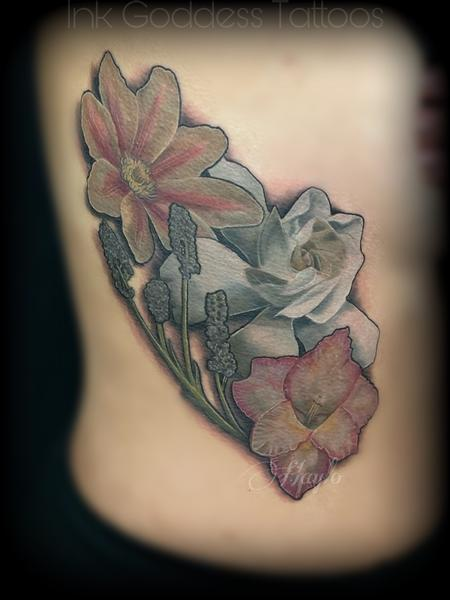 Tattoos - Realistic Floral tattoo by Haylo  - 141168