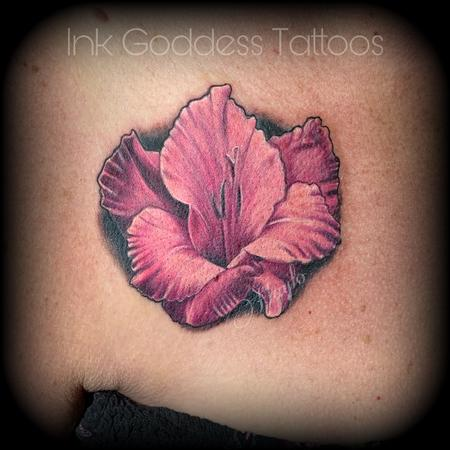 Tattoos - Gladiolus Floral by Haylo - 141584