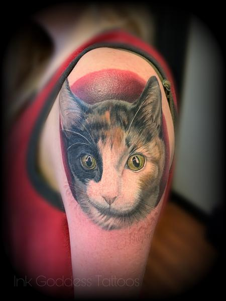 Tattoos - Cat Portrait tattoo by Haylo  - 141589