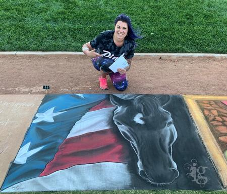 Haylo - Haylo - Chalk Art Competition Las Vegas 2019