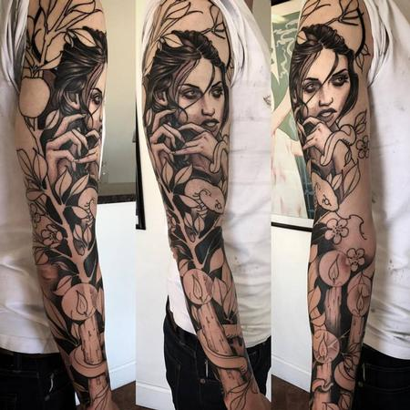Eve sleeve Tattoo Design