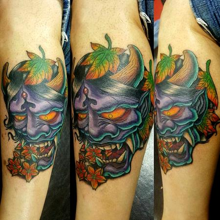 hanya mask tattoo Tattoo Design