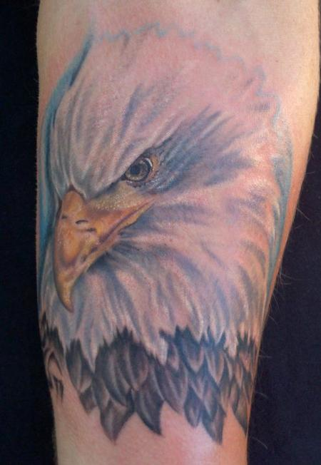 Tattoos - Bald Eagle - 69524
