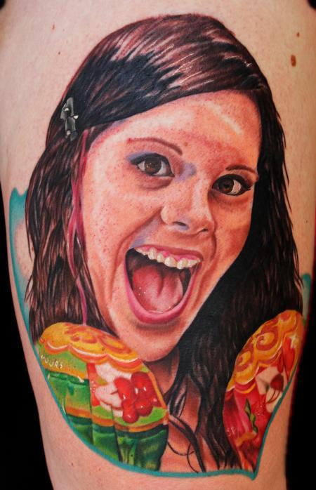 Tattoos - Liz Cook, Fellow tattoo artist - 69584
