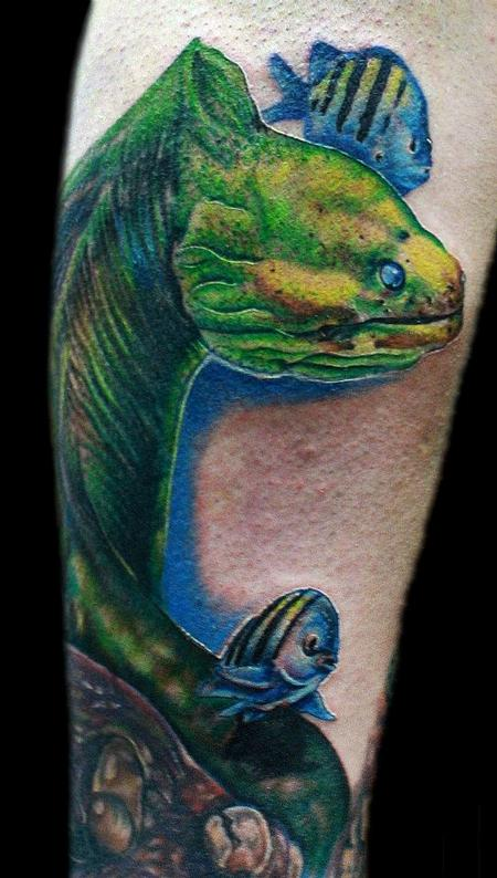 Tattoos - Eel - 69525