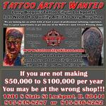 Tattoos - Tattoo Artist Wanted - 123398