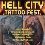 Tattoos - Hell City 2015 Poster - 101586