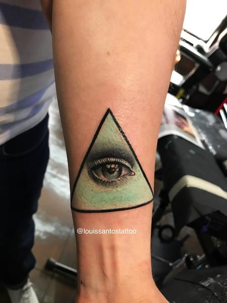 Tattoos - Realistic Eye - 141042