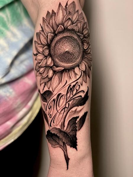 Tattoos - Sunflower Memorial - 141564