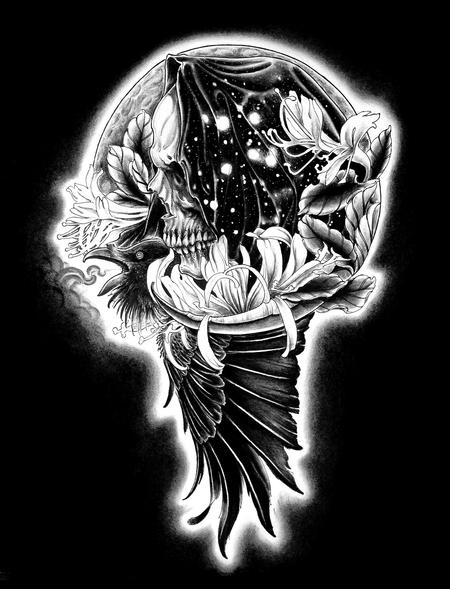 Tattoos - Odin's Raven - 94341