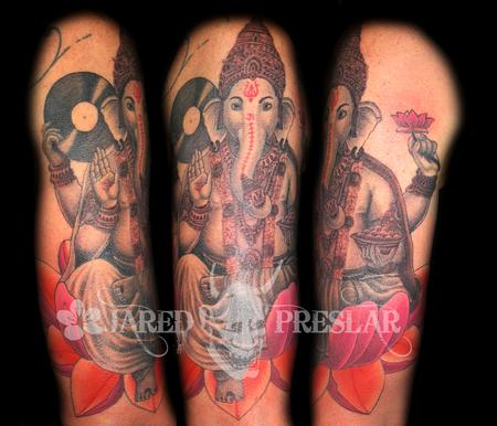 Tattoos - Ganesh Tattoo - 62417